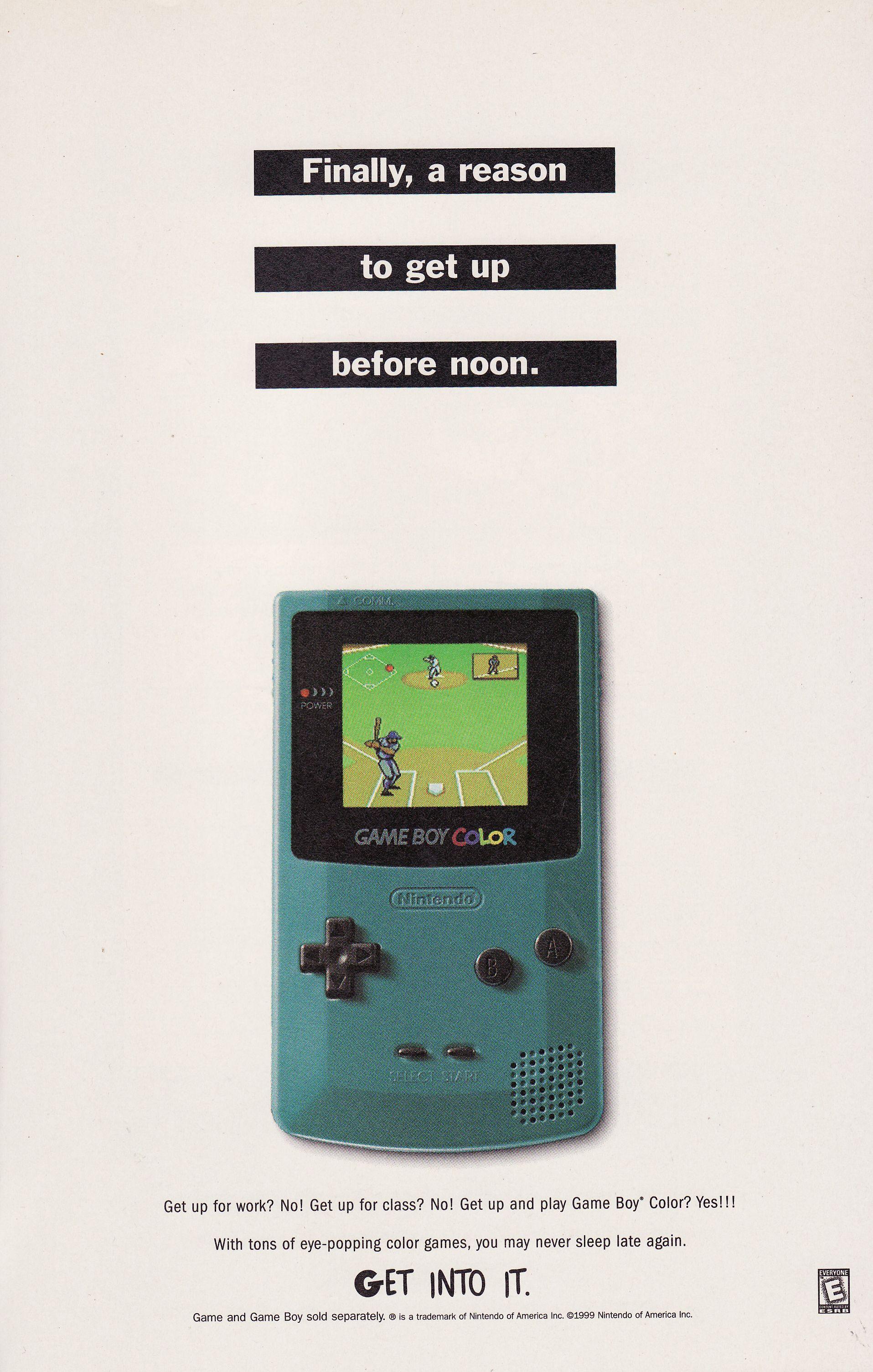 Gameboy Ad 99